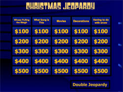 Freebie Friday 51 Christmas Jeopardy Game Life In