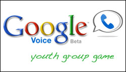 Google Voice youth group game